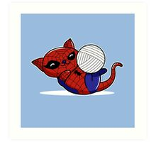 Spider Kitty Art Print