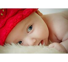 Litlle Red Riding Hood Photographic Print