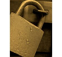 Secure Photographic Print