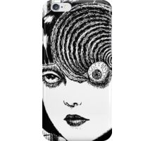 Uzumaki – Eye iPhone Case/Skin