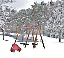 Kids´Playground in Winter by HELUA