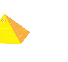 All seeing eye on a pyramid by jazzydevil