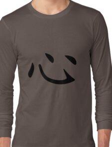 Chinese Character: Heart Long Sleeve T-Shirt