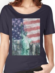 Blessed With Liberty Women's Relaxed Fit T-Shirt