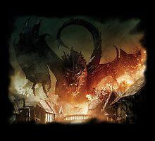 I am fire, i am death. by BatsuX