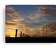 High Lines, Low Lines Canvas Print