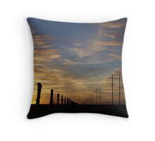 High Lines, Low Lines Throw Pillow