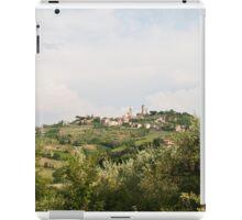 San Gimignano  iPad Case/Skin