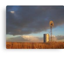 Windmill at Last Light Canvas Print