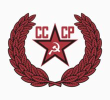 Russian Soviet Red CCCP (Clean) One Piece - Short Sleeve