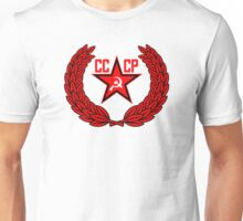 Russian Soviet Red CCCP (Clean) Unisex T-Shirt