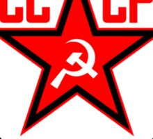 Russian Soviet Red CCCP (Clean) Sticker