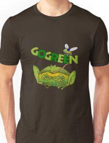 Funny Ecology Go Green Frog Unisex T-Shirt