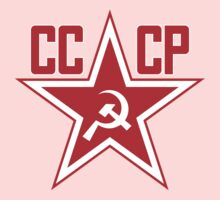 Russian Soviet Red Star CCCP (Clean) Kids Clothes