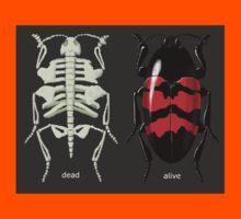 endoskeletal beetle, dead/alive Kids Tee