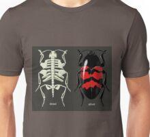 endoskeletal beetle, dead/alive Unisex T-Shirt