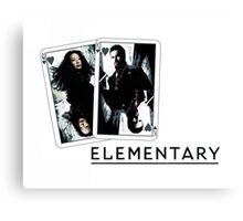 Elementary - Cards Canvas Print