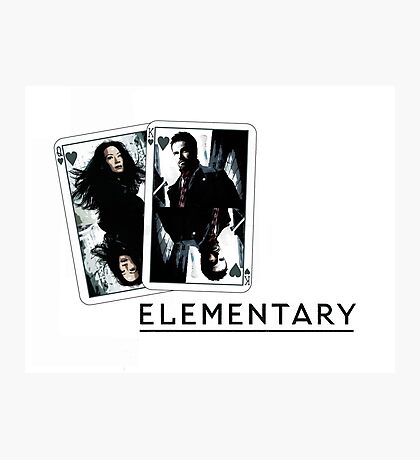 Elementary - Cards Photographic Print