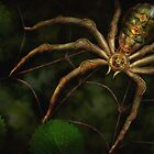 Steampunk - Insect - Arachnia Automata by Mike  Savad