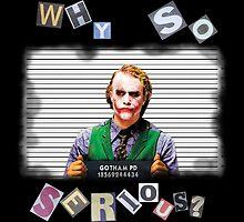 Joker Mugshot by ForEcuador