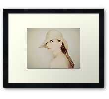 Fleeting glance Framed Print