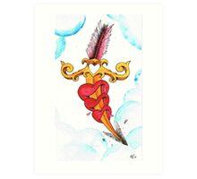Cupids dagger Art Print