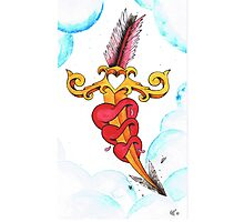 Cupids dagger Photographic Print