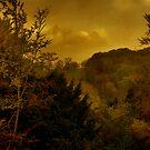 Sunset On Watlington Hill by GlennRoger