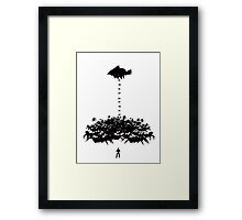 Drop & Roll 2 Framed Print