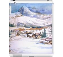 snow scene iPad Case/Skin