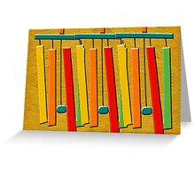 MUSICAL CHIMES Greeting Card