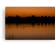 Harbour at Dusk Canvas Print