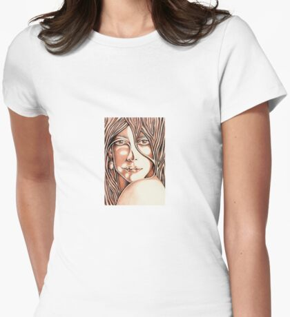 The Watcher Womens Fitted T-Shirt