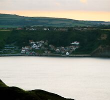 Runswick Bay, from Kettleness Cliffs by dougie1