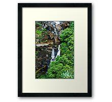 Lower Fitzroy Falls Framed Print