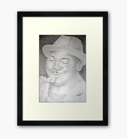 James Carter: Virtuoso Framed Print
