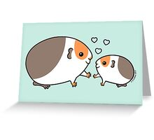 Baby Guinea-pig Greeting Card