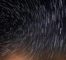 Wonder Lies Sleeping... Startrails Version by Geoff  Coleman - Landscapes
