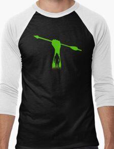 Green hero Men's Baseball ¾ T-Shirt