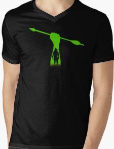 Green hero Mens V-Neck T-Shirt