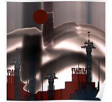 Strange :Landscape ! Poster