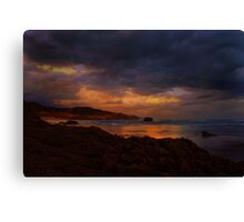 Sorrento Rock Pool Canvas Print