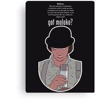 Got Moloko? - Clockwork Orange Canvas Print