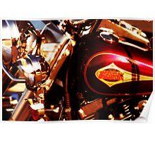 Harley Davidson Gas Tank Poster