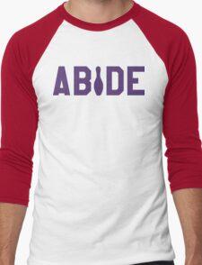 Abide - Purple Font T-Shirt