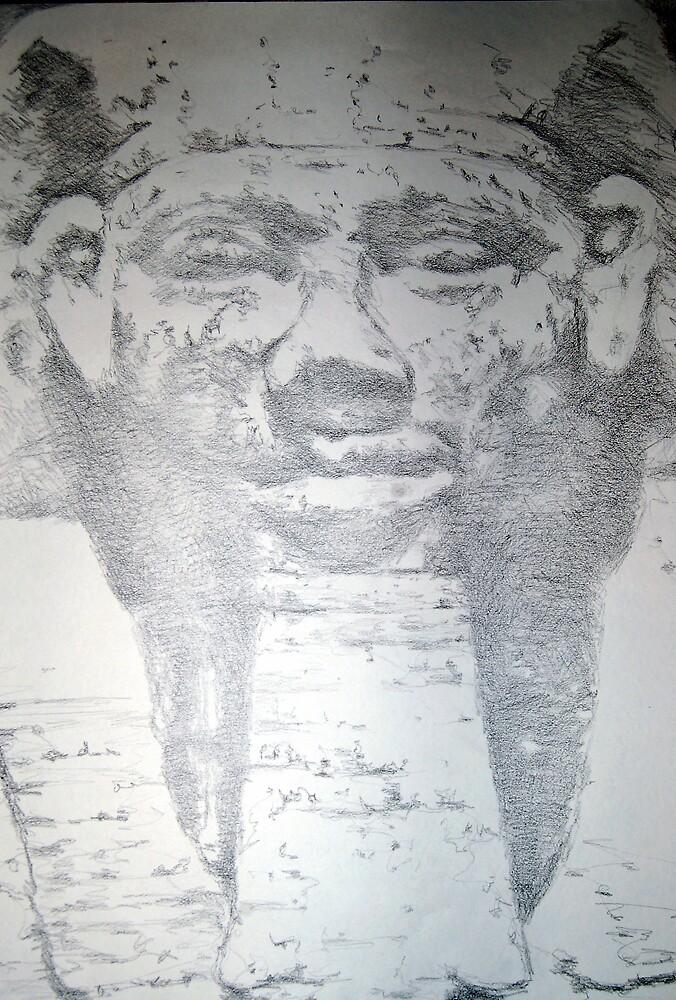 Pharoah Khafra by Charles Ezra Ferrell