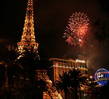 Happy New Year 2008 - Vegas Style by Allen Lucas