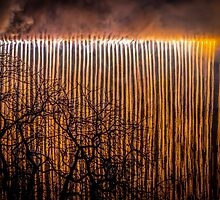Bristol's Waterfall of Fire by Robbie Labanowski