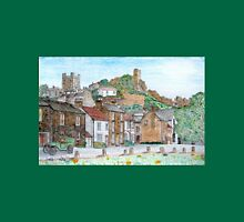Graphite and Coloured Pencil Drawing of  Richmond, Yorkshire  T-Shirt