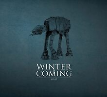 AT-AT Star Wars - Winter Is Coming by Lookas